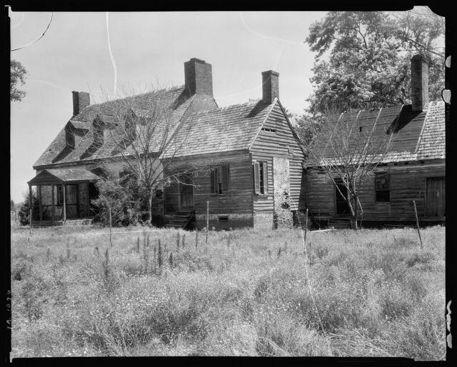 Rose Cottage, Finney Creek, Accomac County, Virginia