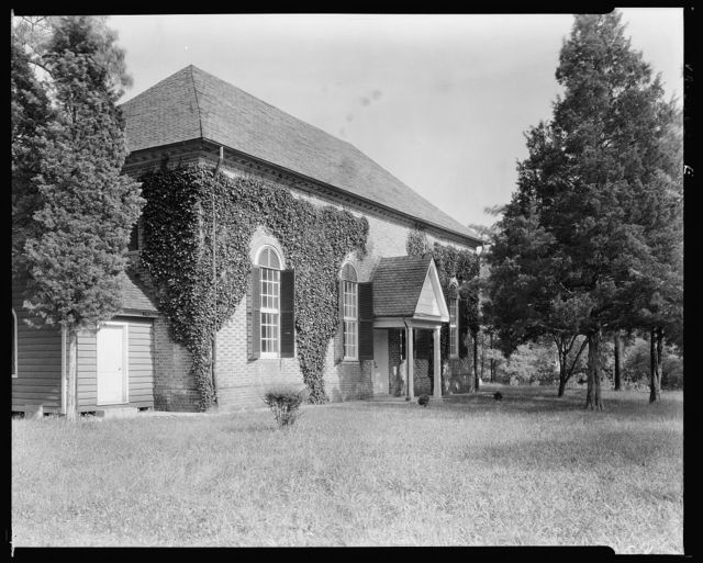 St. Mary's White Chapel, Lively vic., Lancaster County, Virginia