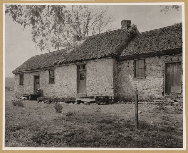 Stone House and Quarters, Berryville vic., Clarke County, Virginia