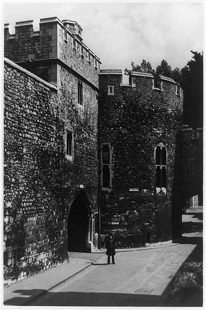 Tower of London. The Wakefield Tower and Bloody Tower