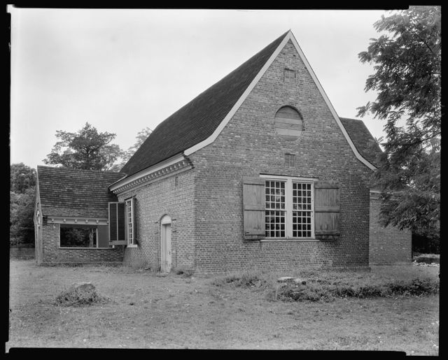 Yeocomico Church, Cople Parish, Hague vic., Westmoreland County, Virginia