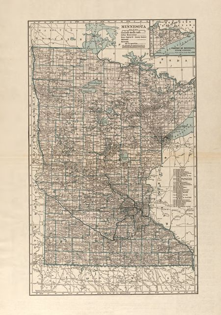 Atlas and farmers' directory of Swift County, Minnesota : containing plats of all townships with owners' names, an outline map of the county and a state map of Minnesota, compiled from latest data on record and from personal investigation.