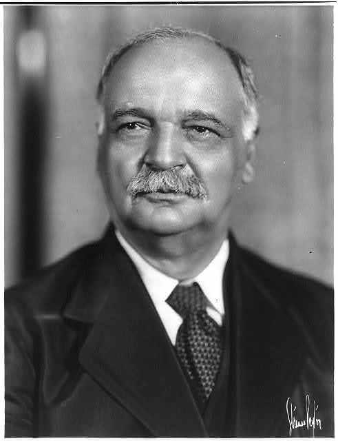 [Charles Curtis, 1860-1936, bust portrait]