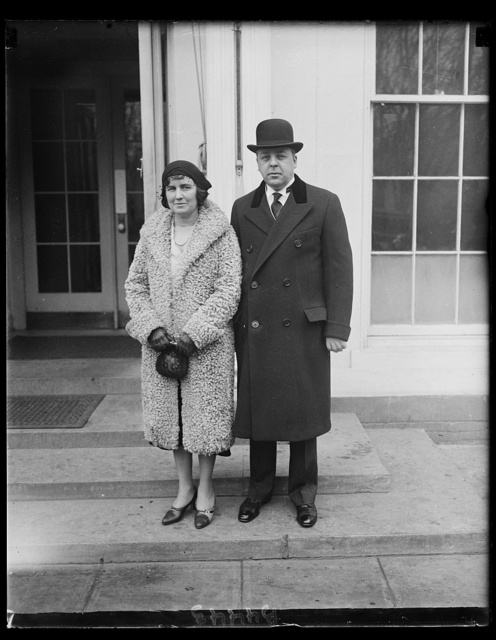 Gov. of Michigan with Mrs. Wilbert M. Brucker who were presented to Pres. Hoover, 1/26/31 [White House, Washington, D.C.]
