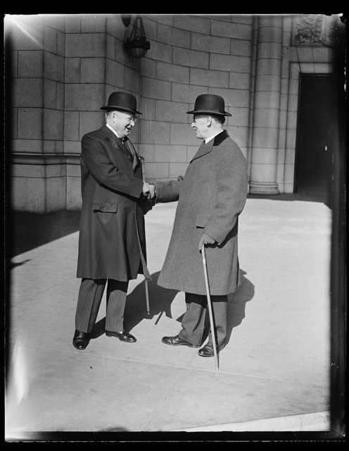 [Henry Stimson?, right. Union Station, Washington, D.C.