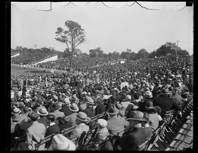 [Herbert Hoover addressing crowd]