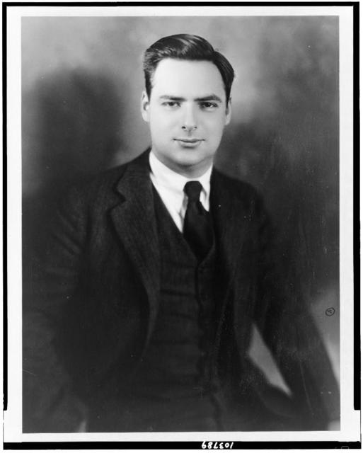[James M. Curley, Jr., son of Boston politician James Michael Curley (1874-1958), half-length portrait, facing front]