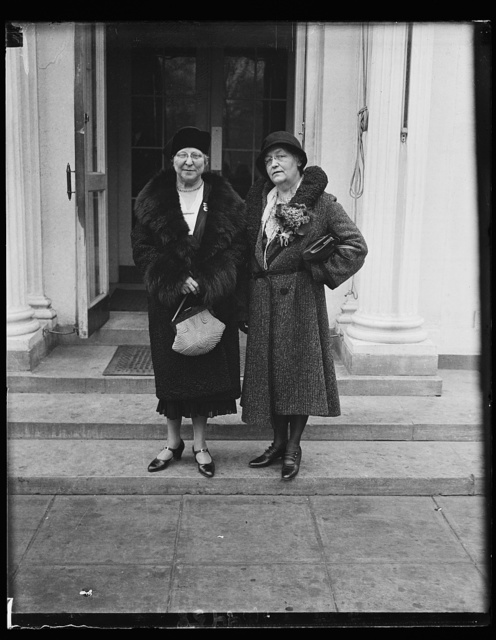 Mrs. Franklin W. Withhoft of GA. and Mrs. Henry F. Baker of Balti., MD
