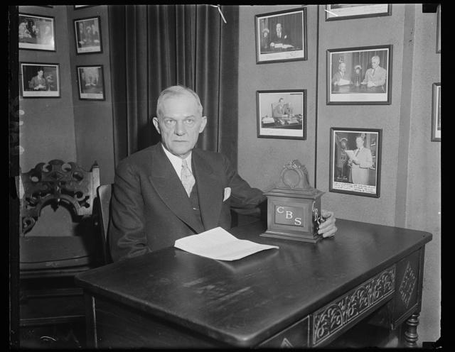 Rep. Charles R. Crish of Georgia at microfilm (CBS)