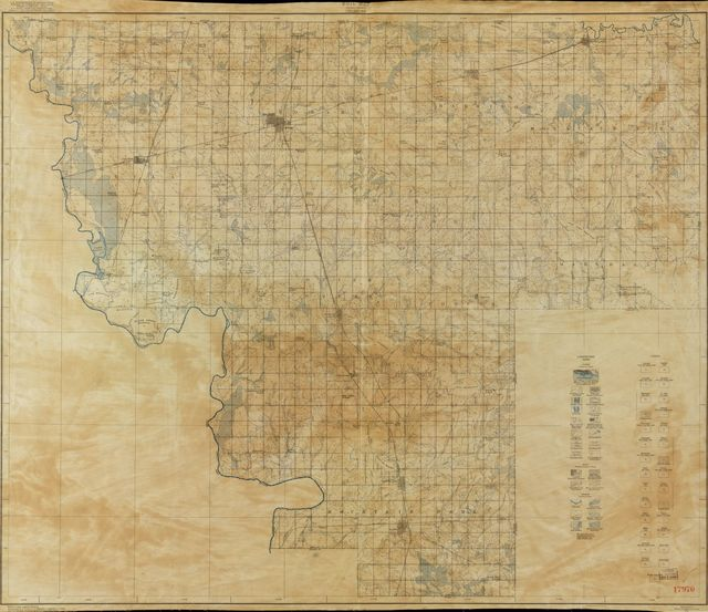 Soil Map, Kiowa County, Oklahoma /