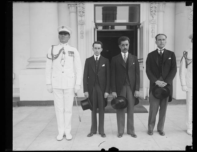 [White House visitors. Washington, D.C.]