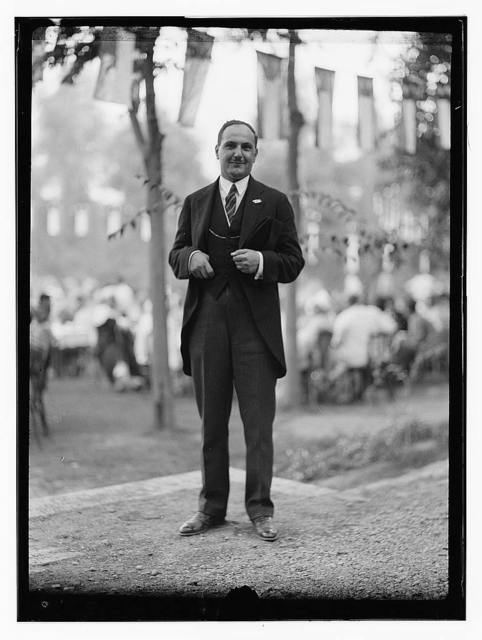 10/6/32 at the palace etc., Baghdad, man in tails