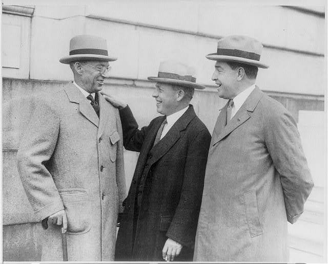 3 principals before testifying before the subcommittee of the Senate Judiciary Committee at the start of the fight for amendment of the Volstead law