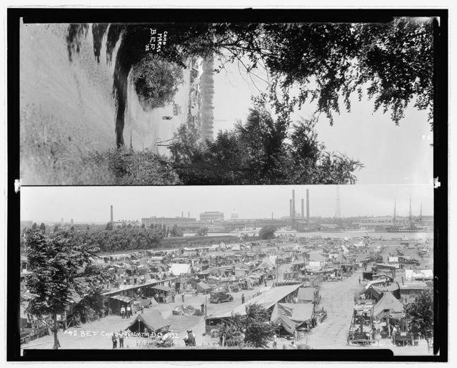 #42 B.E.F. Camp Anacostia D.C. 1932 ; Camp Marks, B.E.F. '32