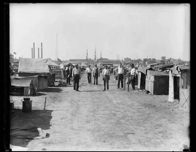 [Bonus Army camp, Anacostia, Washington, D.C.?]