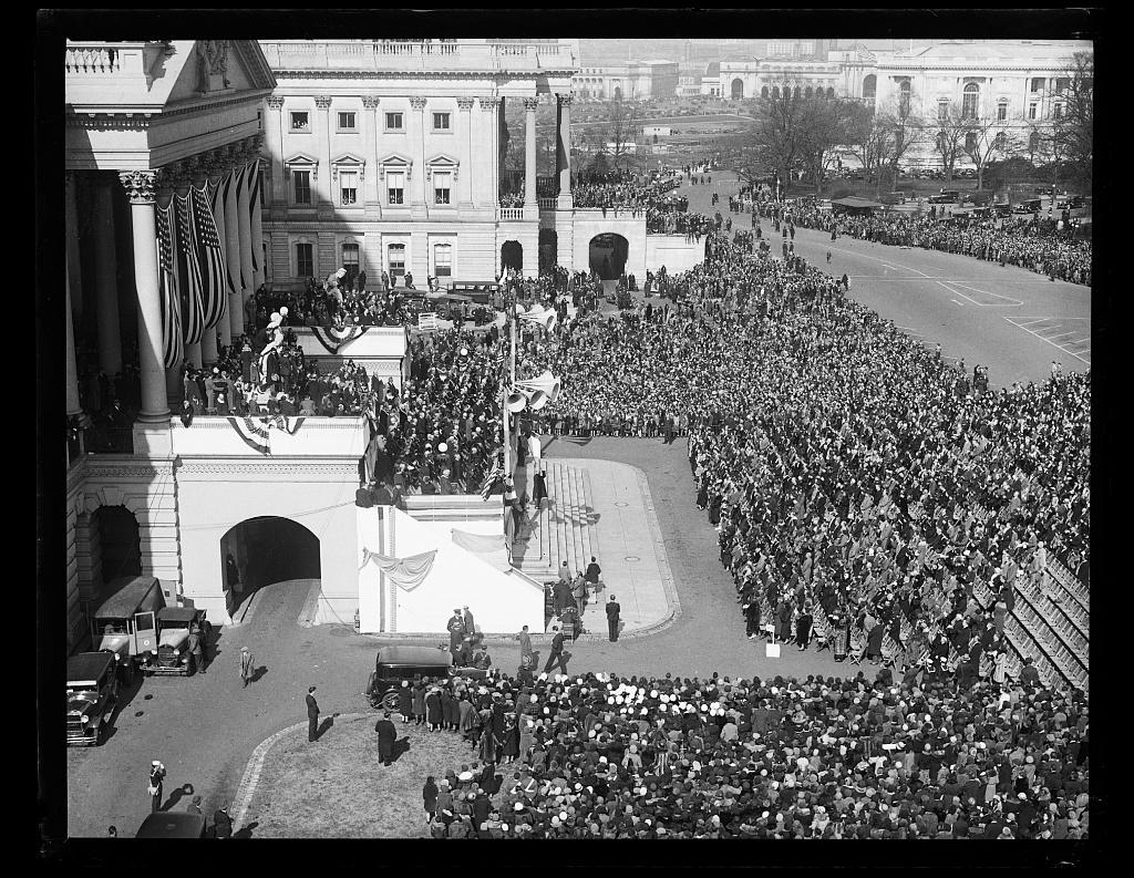 [Ceremony outside U.S. Capitol, Washington, D.C.]