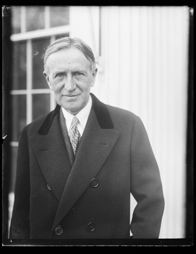 [Henry Stimson? White House, Washington, D.C.]