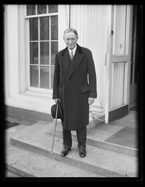 [Henry Stimson? White House, Washington, D.C.]