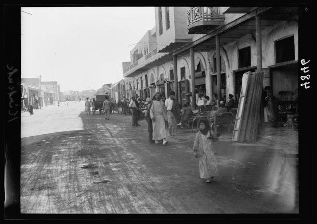 Iraq. Kirkuk. Main street in the newer town