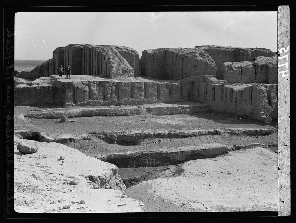 Iraq. Kish. (Tel-Uhaimir). The ruling city immediately after the deluge. The ancient ruins showing extensive remains