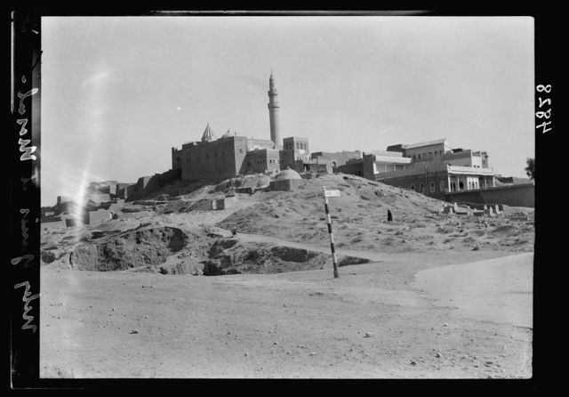 "Iraq. Nineveh. ""The Glory of Kingdoms."" Nebi Yunis, tomb of the prophet Jonah, not far from Nineveh"