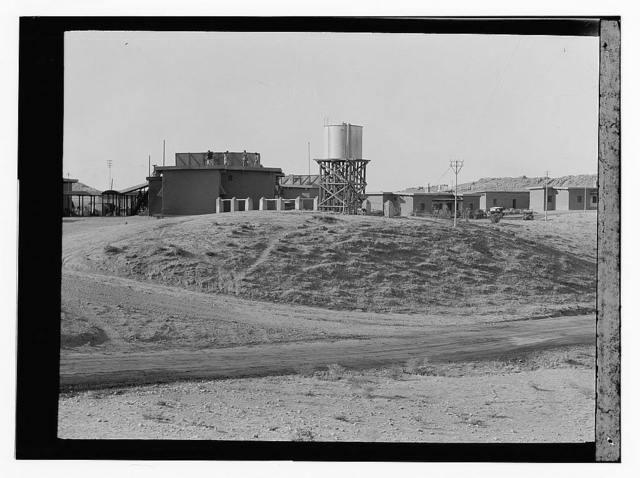 Iraq, oil fields, water tower
