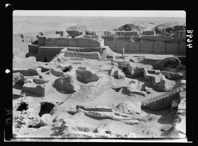 Iraq. Ur. (So called of the Chaldees). Temple of Nannar, the moon God