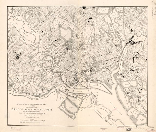 Public buildings and public parks in the District of Columbia : under the jurisdiction of the director /
