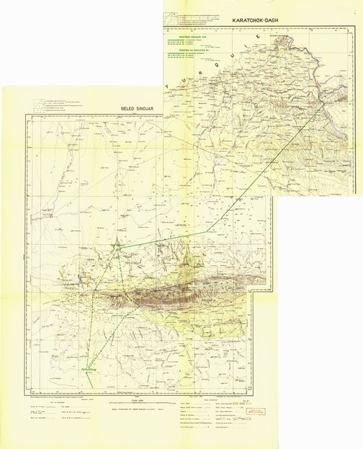 Report of the Commission Entrusted by the Council with the Study of the Frontier between Syria and Iraq.