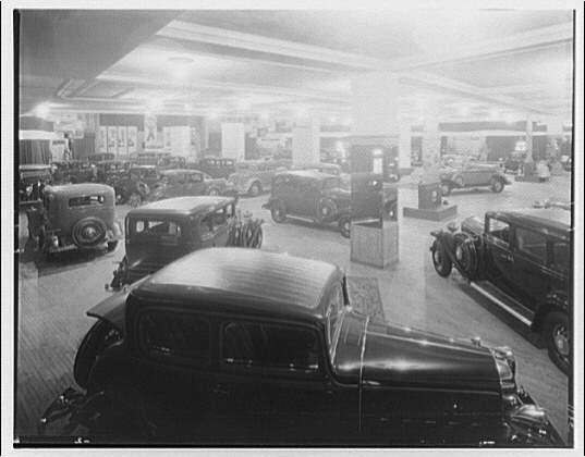 Sterret Operating Service. General Motors show in Washington Auditorium