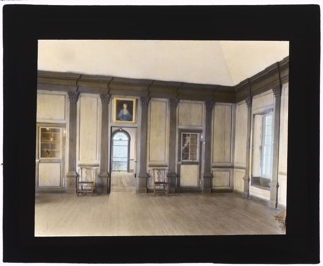 """[""""Stratford Hall,"""" 786 Great House Road, Stratford, Westmoreland County, Virginia. Center hall]"""
