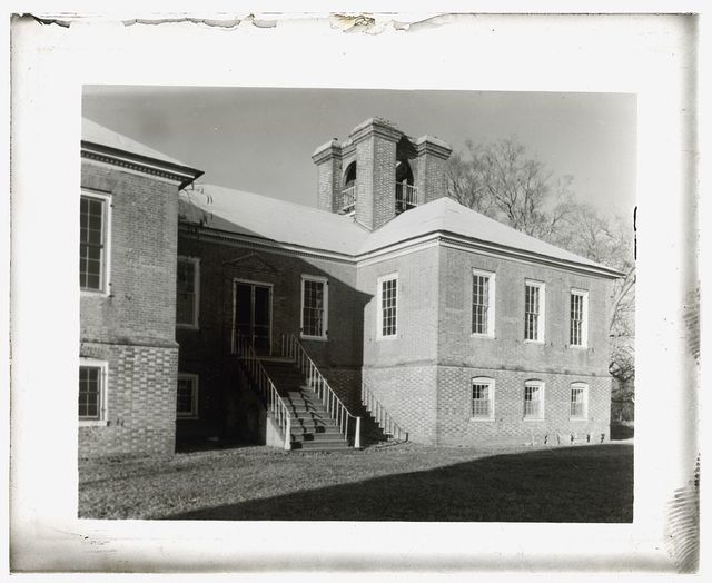 "[""Stratford Hall,"" 786 Great House Road, Stratford, Westmoreland County, Virginia. South entrance]"