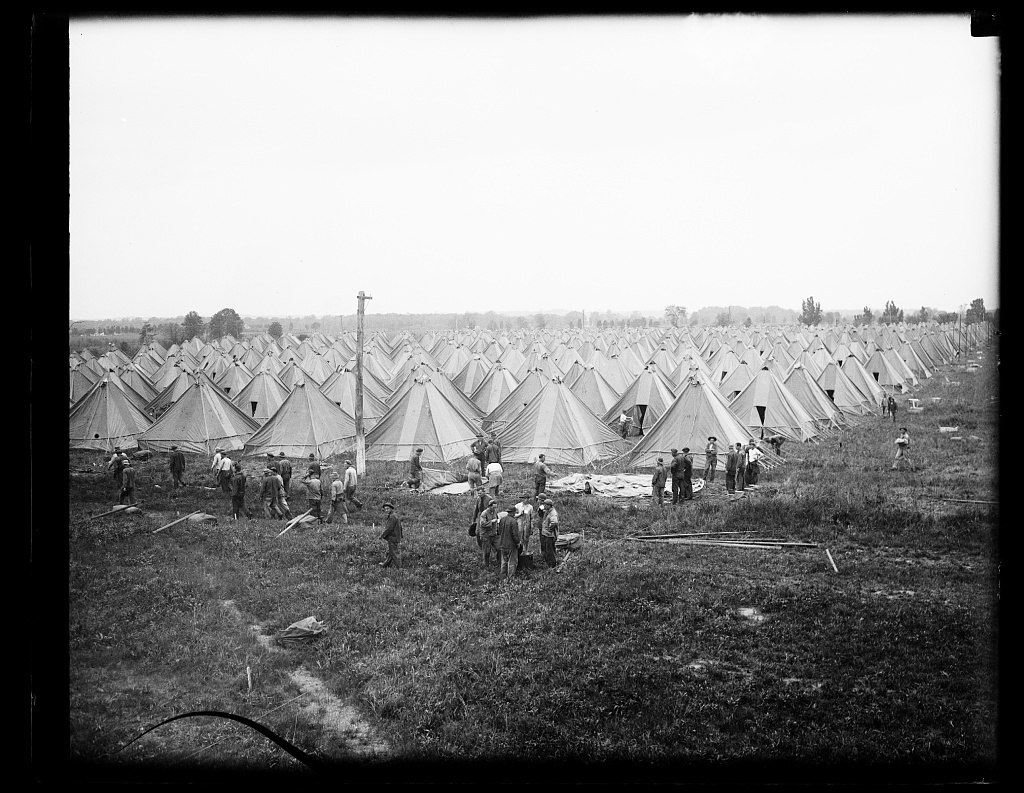 [Tents, military camp]