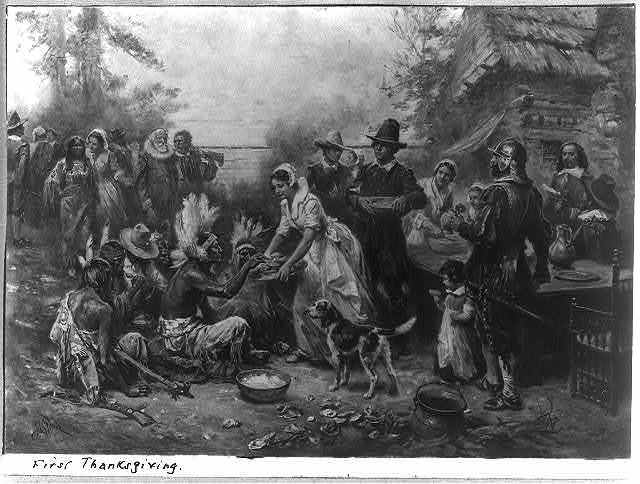 The first Thanksgiving 1621 / J.L.G. Ferris.