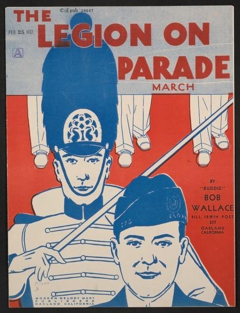 The  legion on parade