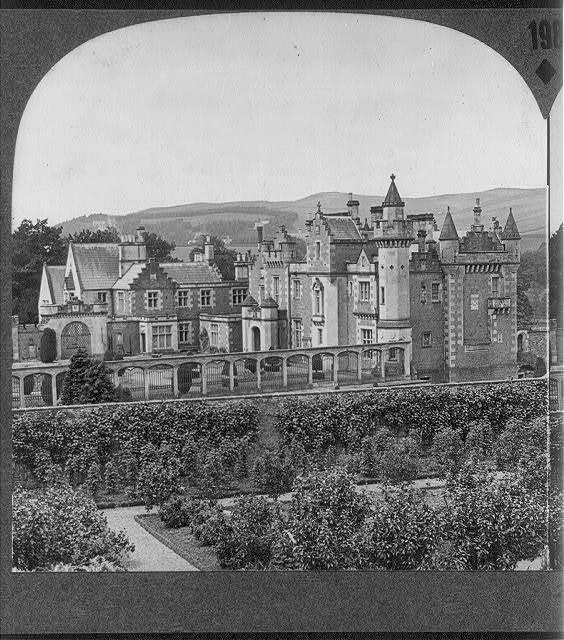Abbotsford, the Residence of Sir Walter Scott, Scotland: Exterior