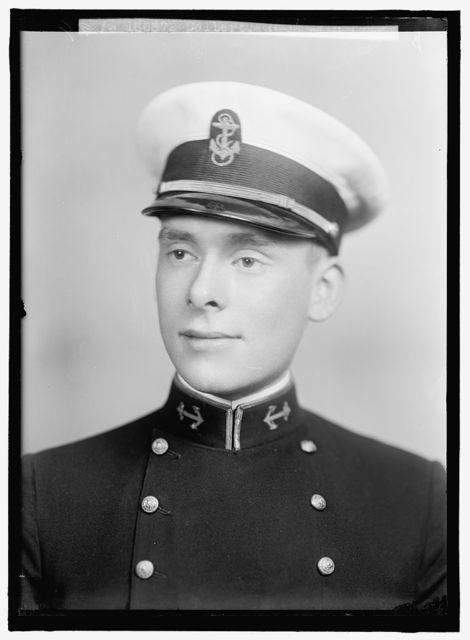 COLBERT, RICHARD G. MIDSHIPMAN. PORTRAIT