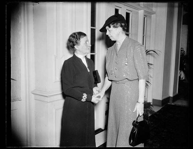 [Eleanor Roosevelt, right]