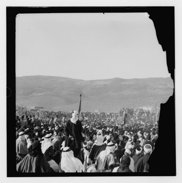 Films taken on the 14th Sept. 1933 when the remains of King Feisal of Iraq were brought to Haifa from Europe to be flown on to Baghdad