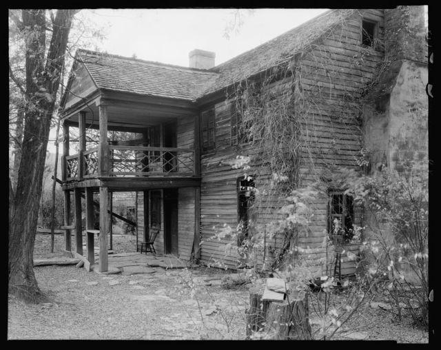Giddings House, Brown's Cove, Albemarle County, Virginia