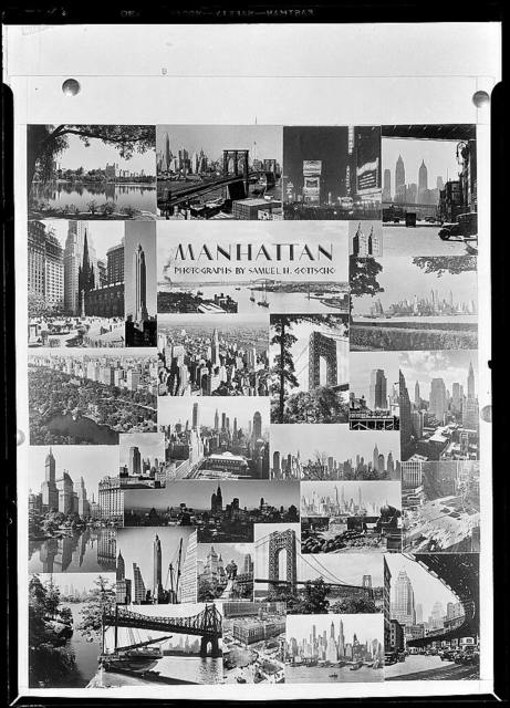 Manhattan. Photographs by Samuel H. Gottscho [Montage]