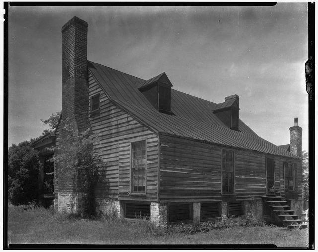 Minor houses and details, Blandfields, Dinwiddie County, Virginia