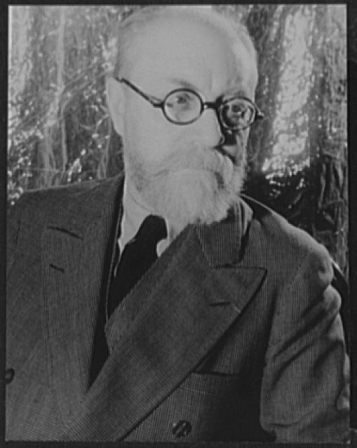 [Portrait of Henri Matisse]