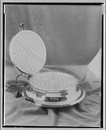 Potomac Electric Power Co. electric appliances. Waffle iron