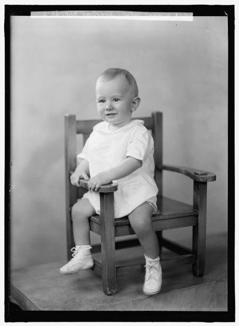 REDMOND, JOHN G. BABY. PORTRAIT
