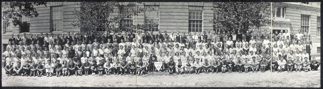 Senior class, Bangor High School, 1933