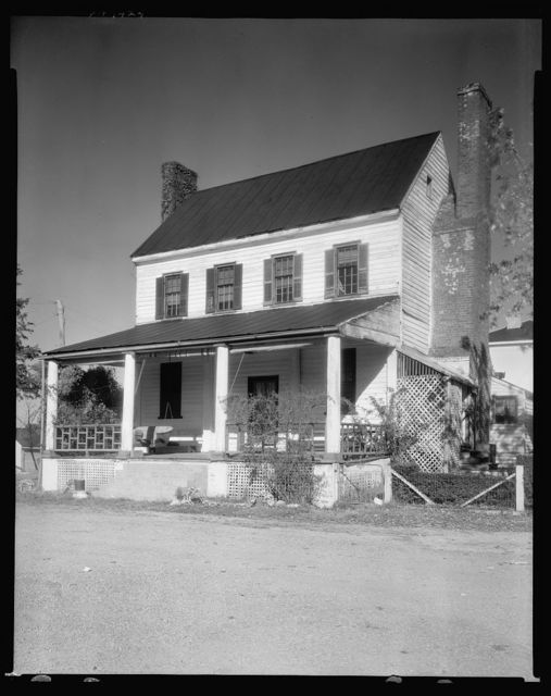 Unidentified house, Buckingham, Buckingham County, Virginia