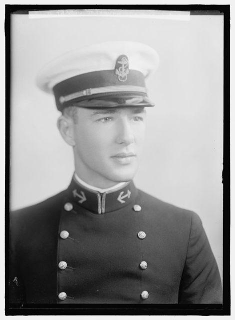 WHITMYRE, GEORGE R. MIDSHIPMAN. PORTRAIT