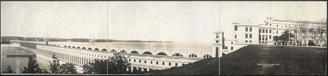 Wilson Dam and power house, Muscle Shoals