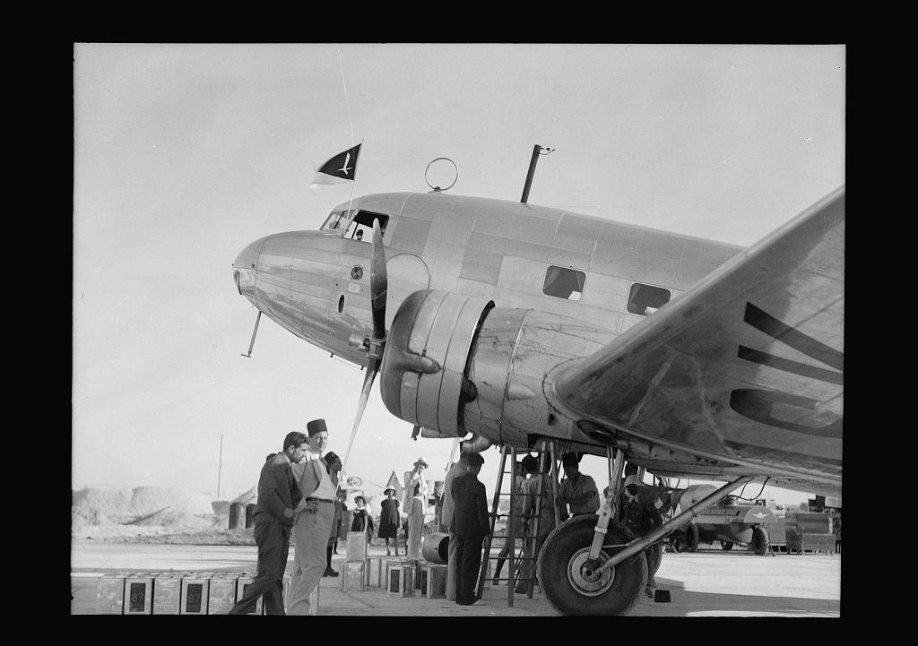 Aeroplanes on Lydda Air Port